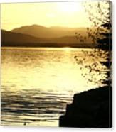Evening Charlotte Sunset Canvas Print