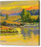 Evening Color Canvas Print