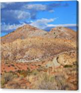 Evening Colors Of The Desert Canvas Print