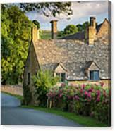 Evening Cottage Canvas Print