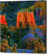Evening In Bryce Canyon Canvas Print