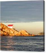 Evening In Burrard Inlet Canvas Print