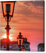 Evening In Florence Canvas Print