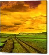 Evening In Masai Mara Canvas Print