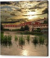 Evening In Prague. Canvas Print