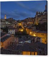 Evening In Siena Canvas Print