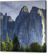 Evening In Valley Canvas Print