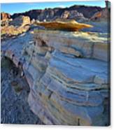 Evening In Valley Of Fire State Park Canvas Print
