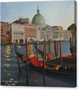 Evening In Venice Canvas Print