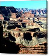 Evening Light Over The Grand Canyon Canvas Print