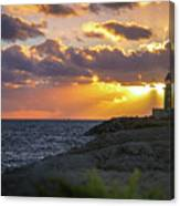 Evening Lighthouse Canvas Print