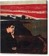 Evening. Melancholy Canvas Print