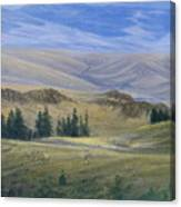 Evening Near Kamloops Canvas Print
