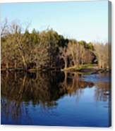 Evening On The Speed River Canvas Print