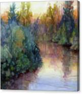 Evening On The Willamette Canvas Print
