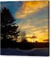 Evening Rising 2 Canvas Print