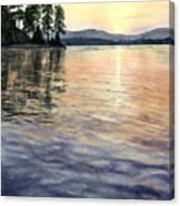 Evening Shades Canvas Print