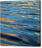 Evening Silk Canvas Print