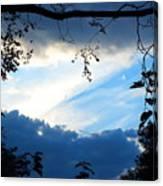 Evening Sky Canvas Print