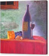 Evening Table Canvas Print