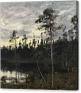 Evening Twilight Canvas Print