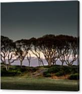 Dusk At Fort Fisher Canvas Print