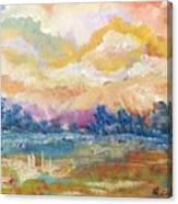 Evening Walk Canvas Print