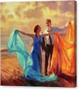 Evening Waltz Canvas Print