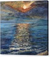 Evenning Sun Canvas Print