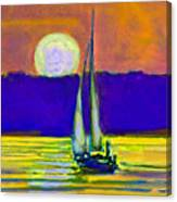 Eventful Evening I Canvas Print