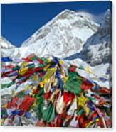 Everest Base Camp Canvas Print