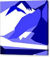 Everest Blue Canvas Print