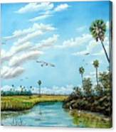 Everglades Inlet Canvas Print