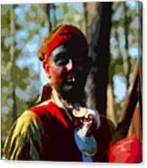 Everglades Seminole Portrait Number Three Canvas Print