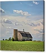 Evergreen Barn 2017 2 Canvas Print