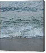 Evergreen Sea Charlestown R.i. Canvas Print
