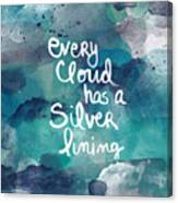 Every Cloud Canvas Print