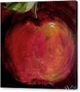 Eve's Apple.. Canvas Print