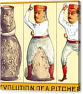Evolution Of A Pitcher Canvas Print