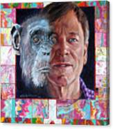 Evolution Of The Self Portrait Canvas Print