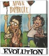 Evolution Poster Canvas Print
