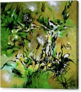 Evolving Element Of Life Canvas Print