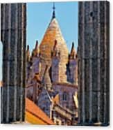 Evora's Cathedral Tower Canvas Print