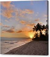 Ewa Beach Sunset 2 - Oahu Hawaii Canvas Print