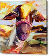 Ewe Love Me Canvas Print