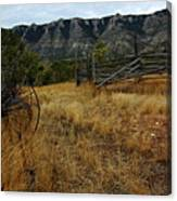 Ewing-snell Ranch 2 Canvas Print