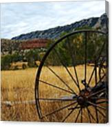 Ewing-snell Ranch 3 Canvas Print