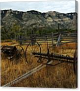 Ewing-snell Ranch 4 Canvas Print