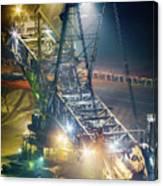 Excavator Coalmine Garzweiler  Canvas Print