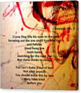 Excerpts No. 1 Canvas Print